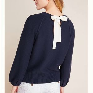 Emily Puff-Sleeved Sweater